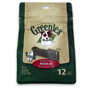 Greenies Treat-Pak - Regular 12 oz. (12 bones)