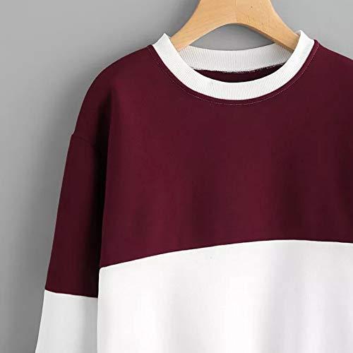 Schlussverkauf KIMODO Pullover Damen Lang Herbst Winter