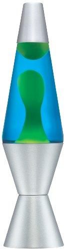 Lava Lamp Classic Lava Lamp, 14.5-inch, Green/Blue
