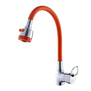 Rotating Single Kitchen Faucet Sink Faucet Copper Hot And Cold