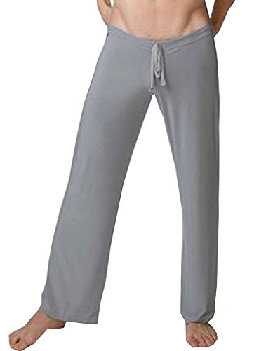 Olens Men Man Flirty Lounge Loose-fitting Sport Yoga Pants Pyjama Trouser