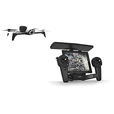 Parrot BeBop 2 Quadcopter Drone w/HD Video Skycontroller Bundle (White)