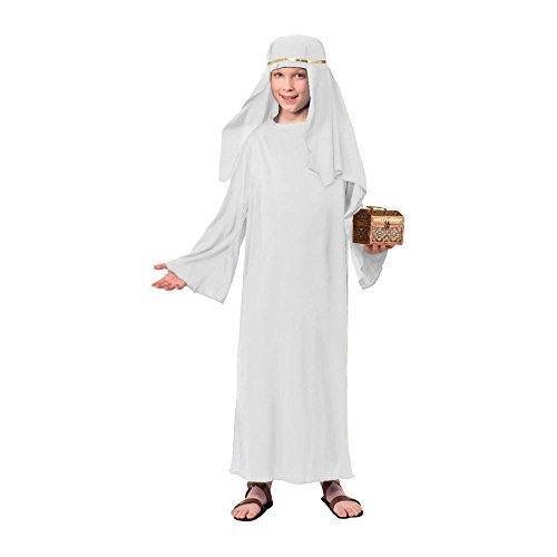 Forum Child's Value Wise Man Costume, White, Large]()