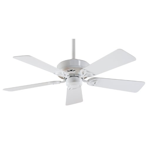 Oak Ceiling Fans With Lights : Hunter hudson inch blade ceiling fan white
