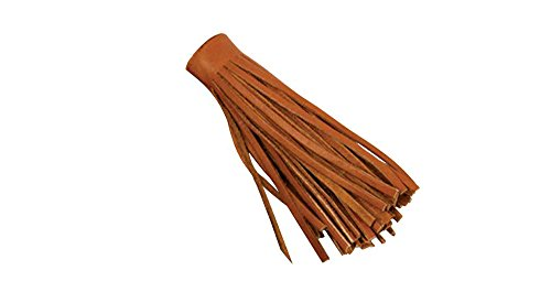 - Tandy Leather Deertan Fringe, 4-Inch by 36-Inch, Saddle Tan