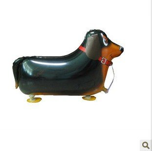 Refillable New (New Re-fillable walking pet helium balloon (Dachshund))