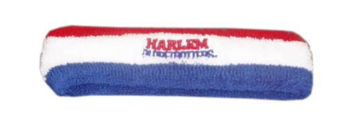 Harlem Globetrotters Embroidered Headband -Red/White/Blue