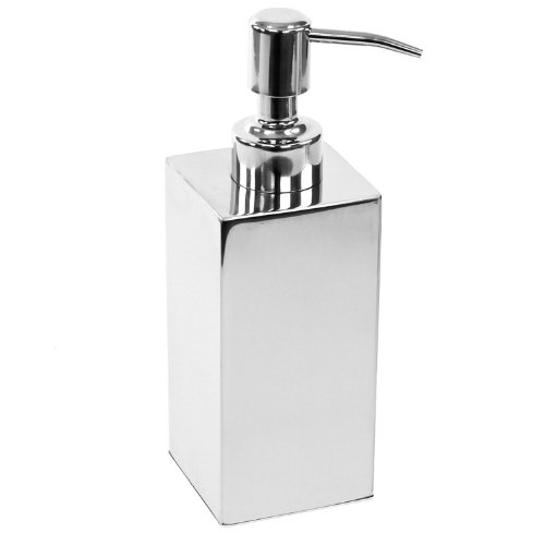 Polished Soap Dispenser, Chrome (Nameeks Soap Dispenser)