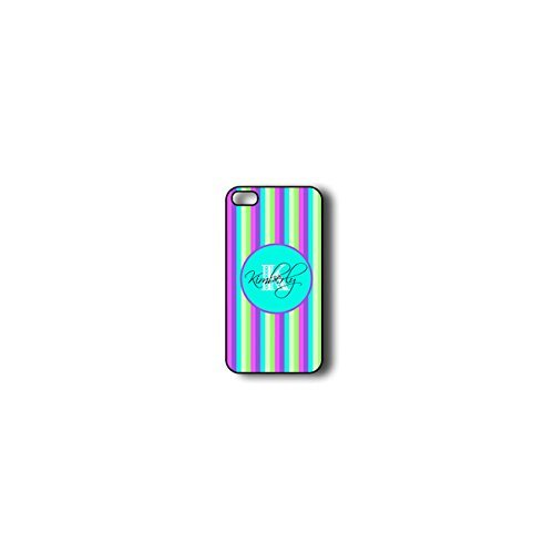 Krezy Case Monogram iphone 4 Case, Colorful stripe Monogram iphone 4 Case, Monogram iphone 4 Case, iphone 4 Case...