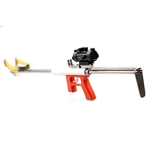 siciwinni Eagle Smooth-bore Musket Ammo Mechanical Bow Slingshot Target Hunting Fising Tools Long-Range Strike Catapult Sling Shot kit