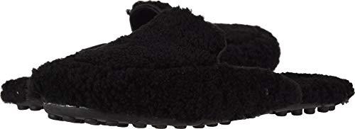 UGG Women's Lane Fluff Loafer Black 8 B US
