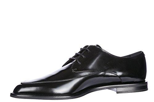 En Cuir Chaussures Classiques Lacets Noir Femme Derby À Tod's YRXpqq