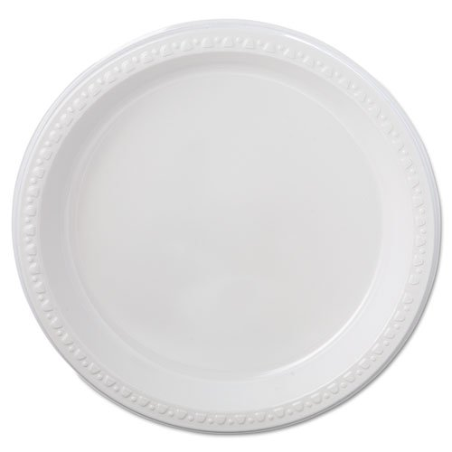 CHINET 81209 Heavyweight Plastic Plates, 9