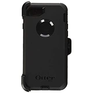 OtterBox DEFENDER SERIES Case for iPhone SE (2nd gen - 2020) and iPhone 8/7 (NOT PLUS) - Frustration Free Packaging - BLACK