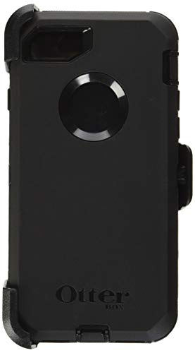 OtterBox DEFENDER SERIES Case for iPhone 8 & iPhone 7 (NOT Plus) - Frustration Free Packaging - BLACK (Phone Otterbox Cases)