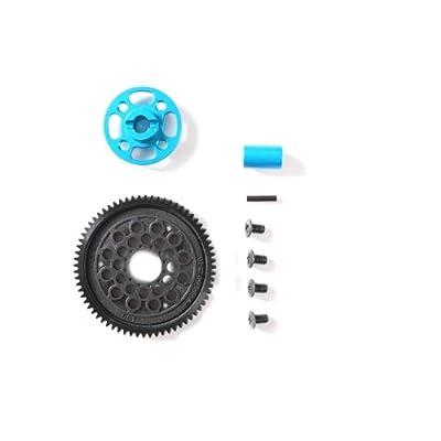 Tamiya TAM54500 54500 Rc TT02 High Speed Gear Set, 68T, Brown: Toys & Games