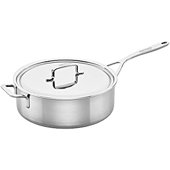 Amazon Com Demeyere Atlantis 2 6 Quart Saut 233 Pan With Lid