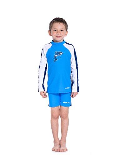 SunBusters Boys Swim Short(UPF 50+), Splash, 2/3 yrs by SunBusters Sunwear (Image #2)