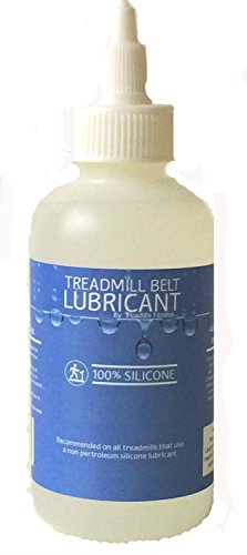 100% Silicone Treadmill Belt Lube 4oz- Same Stuff - Lower Price - Best Value! (Easy to Apply, Instructions on Bottle) Motion Fitness Treadmill