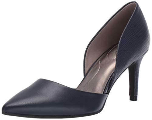 Bandolino Women's GRENOW Pump, Navy, 7 Medium US
