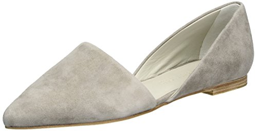 Kennel And Schmenger Shoe Manufactory Ladies Zone Chiuso Ballerine Grigio (fantasma)