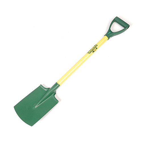 Lasher Tools Ladies Border Spade – Ideal for fine work in borders – Lightweight – Suitable for use by all ages – Bright…