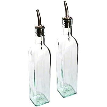 Tablecraft 16 oz. Olive Oil Bottle Set of 2