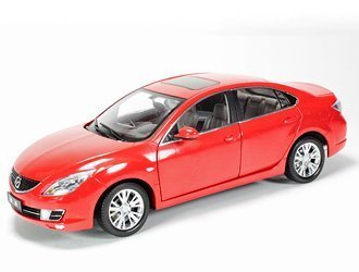 Mazda 6 2009 Diecast Model Car Toys Games