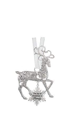 (Ganz The joy of Christmas is Family Reindeer Ornament)