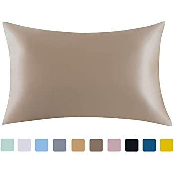 Amazon Com Silver 100 Mulberry Silk Pillowcase For Hair