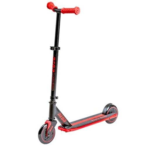 Lightweight Strong Performance Red Frame Light-up LED Viper Scooter