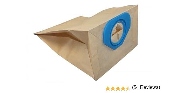 10x Bolsas para aspiradoras papel para Nilfisk GS80, Nilfisk G90 ...