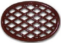 John Wright 33349 Apple Red Lattice Trivet ()