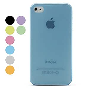 Buy 0.2mm Slim Frosted Protective Case for iPhone 4 and 4S (Assorted Colors) , Purple