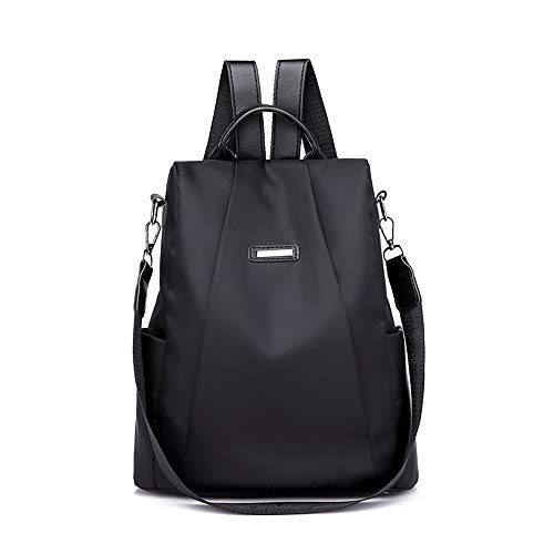 YEZIJIN Women Travel Backpack Travel Bag Anti-Theft Oxford Cloth Backpack