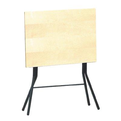 スクエアスタンドタッチ テーブル ナチュラル×ブラックレッグ B006Z4TRI6