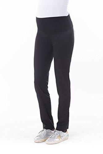BALLOON-pantalon slim de grossesse noir (T2)