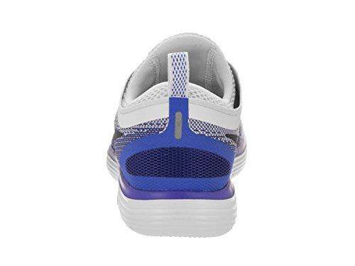 Zapatillas Damen Nike Mujer Para Running white De Platinum Blanco Run Negro pure black Laufschuh 2018 Free qBwRxwXS4