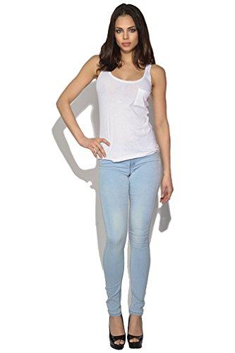 Only Ultimate Skinny luz azul jeans azul azul vaquero XL