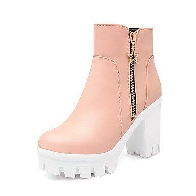 pwne Zapatos De Mujer Cuñas / Plataforma / Moda Botas Botas Exteriores / Oficina &Amp; Carrera / Plataforma Informal US5 / EU35 / UK3 / CN34
