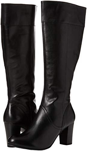 22 25510 black Stivali Nero Nappa Donna Caprice zqBYq