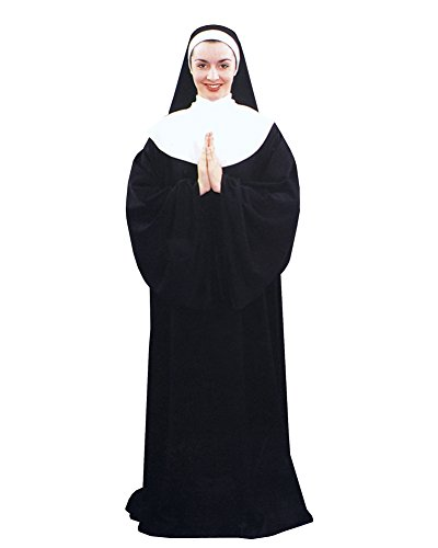 Sexy Priest Costumes (Nun Costume Convent Religious Costume Theatre Costumes Sizes: One Size)