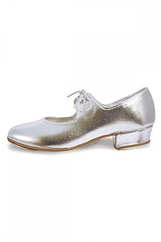 Roch Valley LHPS - Zapatos de claqué, color plateado plata - plata