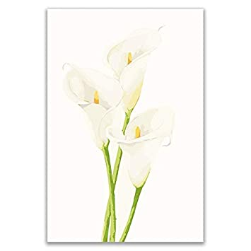 Coloriage Fleur Arum.Kykdy Peinture A L Huile De Fleurs De Prunier Bricolage Par Numeros