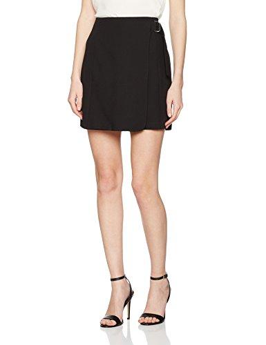 New Look Ring Wrap, Jupe Femme Noir (Black 01)