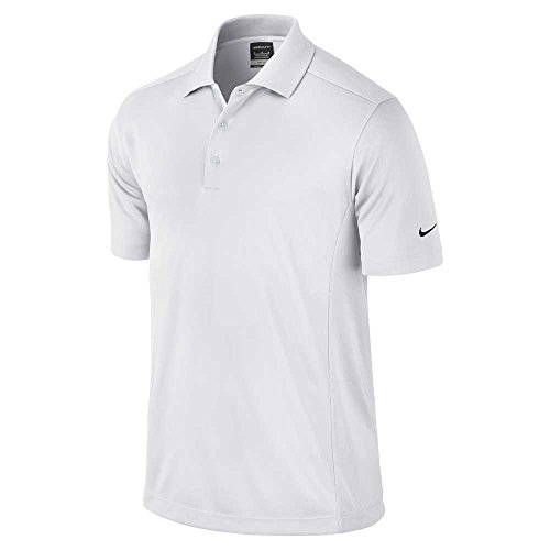 Nike Nike Nike Mens Polo Shirt fit fit fit White Dry 6TxqRw6CA