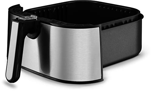 Gourmia GAF645 Digital Stainless Steel Air Fryer   Oil-Free Healthy Cooking   6-Quart Capacity   8 Cook Modes   Removable, Dishwasher-Safe Basket   Free Recipe Book Included by Gourmia (Image #4)