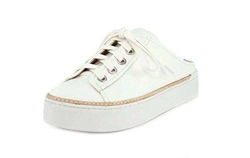 M4d3 Womens Slide Mule Sneaker Vitello Morbido Bianco