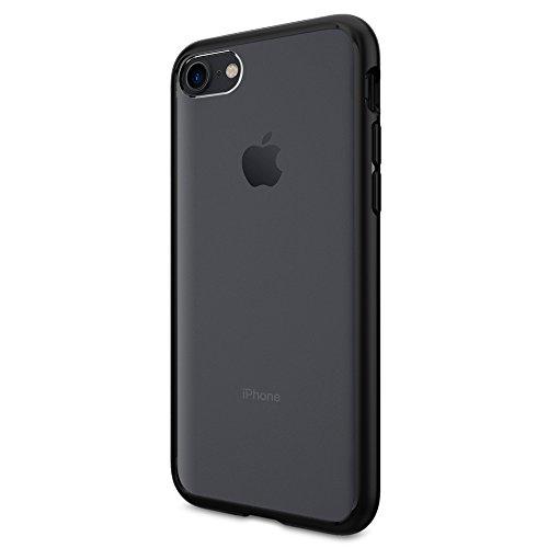 iPhone 7 Hülle, Spigen® [Ultra Hybrid] Luftpolster-Technologie [Schwarz] Durchsichtige Rückschale und TPU-Bumper Schutzhülle für iPhone 7 Case, iPhone 7 Cover - Black (042CS20446)