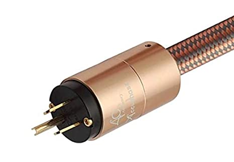 Color : EU Version, Size : 3m XAZTY Power Cord Power Cable HiFi American Standard Audio CD Amplifier amp Power Cables EU US Plug Power